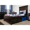 Craft Kids Furniture London Twin Panel Bed with Underbed Storage