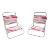 Pure Weather Foldable Sun and Sand Chair (Set of 2)