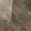"""Tesoro Vstone 19"""" x 19"""" Porcelain Field Tile in Pulpis Cross Semi Polished"""