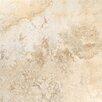 "Tesoro Gala Travertino 18"" x 18"" Ceramic Field Tile in Noce"