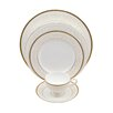 Shinepukur Ceramics USA, Inc. Daniela Bone China 5 Piece Place Setting (Set of 4)