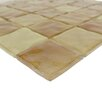 """Abolos Waterfall 2"""" x 2"""" Glass Mosaic Tile in Brown"""