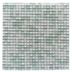 """Abolos Petite 0.38"""" x 0.38"""" Glass Mosaic Tile in Ice Cube"""