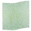 "Abolos Galaxy Wavy 0.31"" x 0.31"" Glass Mosaic Tile in Green"
