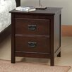Chateau Imports Jace 2 Drawer Nightstand