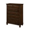 Roundhill Furniture Concord 6 Drawer Chest