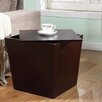 Roundhill Furniture Alpes Multifunction Storage Cube End Table
