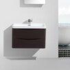 """Eviva Smile® 30"""" Single Modern Bathroom Vanity Set"""