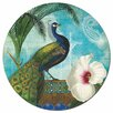 Paperproducts Design Kashmir 8.25'' Peacock Plate (Set of 4)
