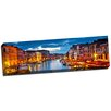 Picture it on Canvas Cityscape Panoramic Venice 2 Panoramic Photographic Print on Wrapped Canvas.