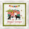 Suzanne Nicoll Studio Life is Sweet Happy Camper Framed Painting Print