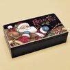 Lang Believe Santa Trinket Box