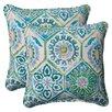 Bungalow Rose Zutphen Corded Indoor/Outdoor Throw Pillow (Set of 2)