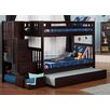 Viv + Ro Cascade Twin over Twin Bunk Bed with Trundle