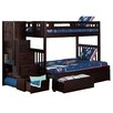Viv + Rae Cascade Twin over Full Bunk Bed with Storage