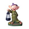 Woods International Disney Garden LED Dopey Statue