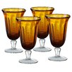 Artland Savannah Bubble Goblet (Set of 4)