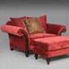 Sage Avenue Caleb Chair and Ottoman