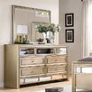 Fairfax Home Collections Champagne 7 Drawer Dresser