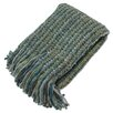 Bedford Cottage-Kennebunk Home Stria Striped Woven Throw Blanket