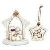 Lighthouse Christian Products 2 Piece Simply Holy Family Set