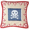 Win Green Pirate Shack Throw Pillow Cover