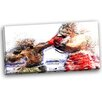 Design Art Boxing Knock Out Graphic Art on Wrapped Canvas