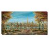 Artistic Home Gallery 'New York View' by Ruane Manning Painting Print on Wrapped Canvas