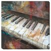 Artistic Home Gallery 'My Piano' by Nan Painting Print on Wrapped Canvas