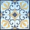 "Rustico Tile & Stone MeaLu 8"" x 8"" Thames Cement Tile (Set of 6)"