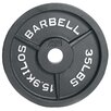 "Cap Barbell 2"" Black Plate (Set of 3)"