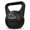 Cap Barbell 20 lbs Black Cement Kettlebell