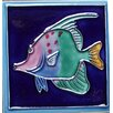 Continental Art Center Tropical Fish #2 Tile Wall Decor