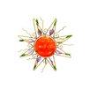 Continental Art Center Acrylic Sun Garden Stake