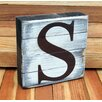 aMonogram Art Unlimited Classic Letter Dollar Sign on Rustic Board Wall Decor