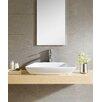 Fine Fixtures Modern Vitreous Modern Vessel Bathroom Sink