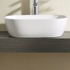 "Fine Fixtures Vitreous China 19"" Thin Edge Vessel Sink"
