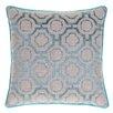 14 Karat Home Inc. Embroidered Distressed Geometric Throw Pillow