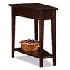 Leick Furniture Chocolate Oak End Table
