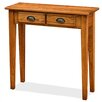 Leick Furniture Favorite Finds Two Drawer Console Table