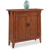 Leick Furniture Favorite Finds Mission Foyer Cabinet/Hall Stand