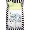 Atelier ëdele Apple Tree 4 Piece Organic Baby Microfiber Duvet Crib Bedding Set