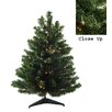 Darice 3' Green Artificial Christmas Tree with 100 Clear Lights and Stand
