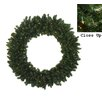 Darice Pre-Lit Commercial Size Canadian Pine Artificial Christmas Wreath
