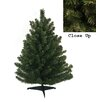 Darice 1.5' Green Pine Artificial Christmas Tree with Stand