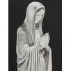 Buy Art For Less Mother Mary Statue by Ed Capeau Painting Print on Wrapped Canvas