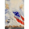 Buy Art For Less Watching Over Us by Ed Capeau Painting Print on Wrapped Canvas