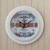 "Breakwater Bay 18"" Nautical Anchor Wall Clock"