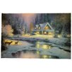 Wing Tai Trading Winter LED Canvas