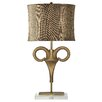 Harp and Finial Nairobi 36'' Table Lamp with Drum Shade